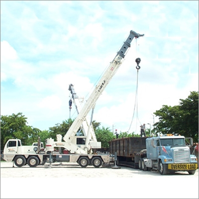 Service Provider of Heavy Machinery Loading and Unloading Crane Service Gurugram Haryana